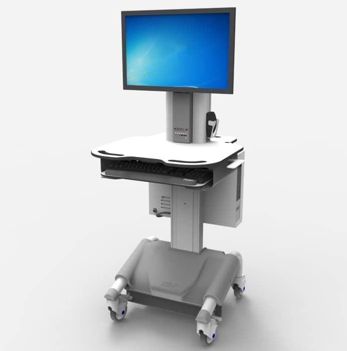 The Mobile Computer Cart from Vision ID