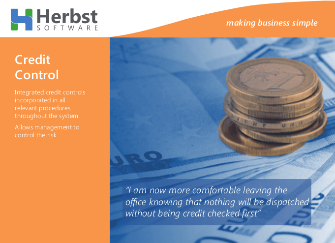 Herbst: Do you have proper credit control for your business?