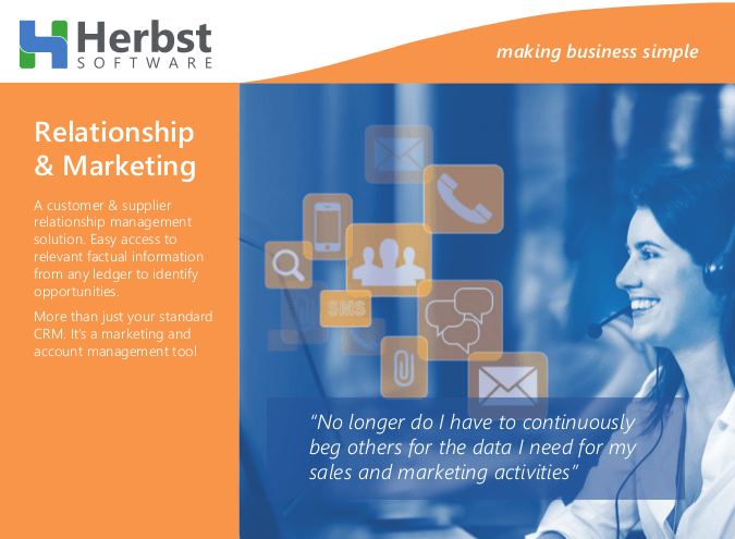 Herbst Insight - Relationship & Marketing