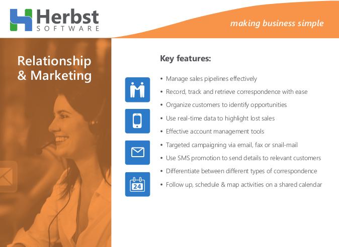 Herbst Insight – Relationship & Marketing