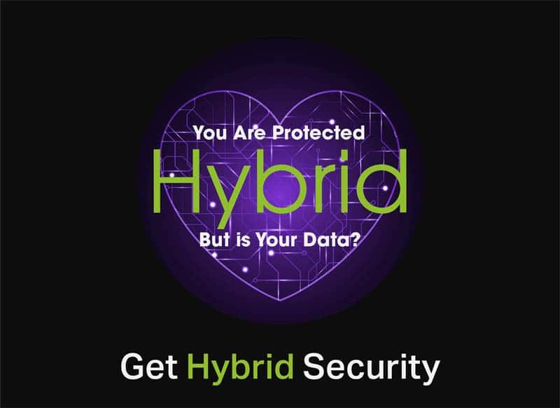 HybridTP Cyber Security Logo